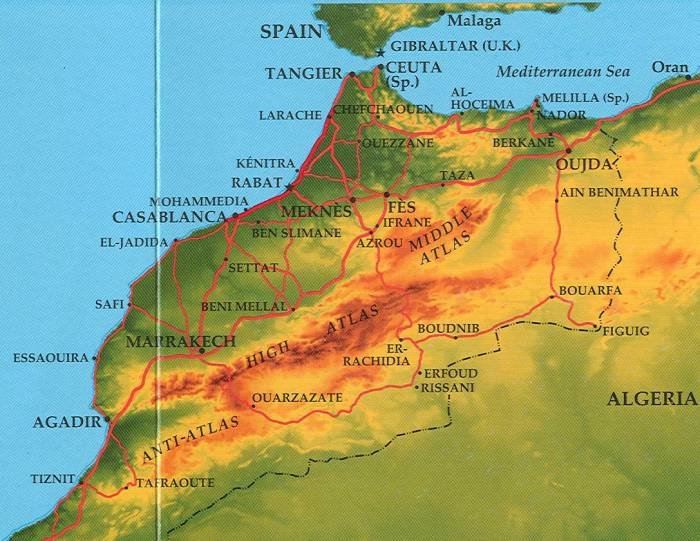 Middle atlas mountains map gumiabroncs Image collections